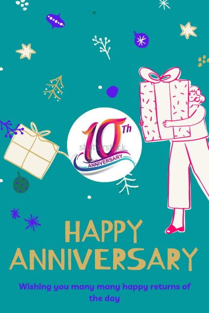 10th Wedding Anniversary Wishes Messages Quotes 1