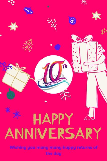 10th Wedding Anniversary Wishes Messages Quotes 10