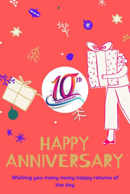 10th Wedding Anniversary Wishes Messages Quotes 2