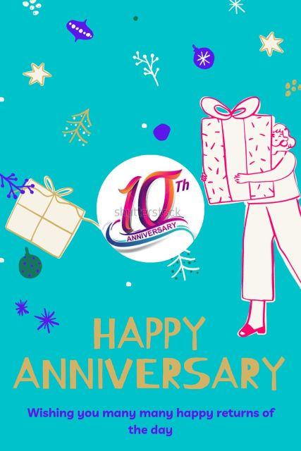 10th Wedding Anniversary Wishes Messages Quotes 3