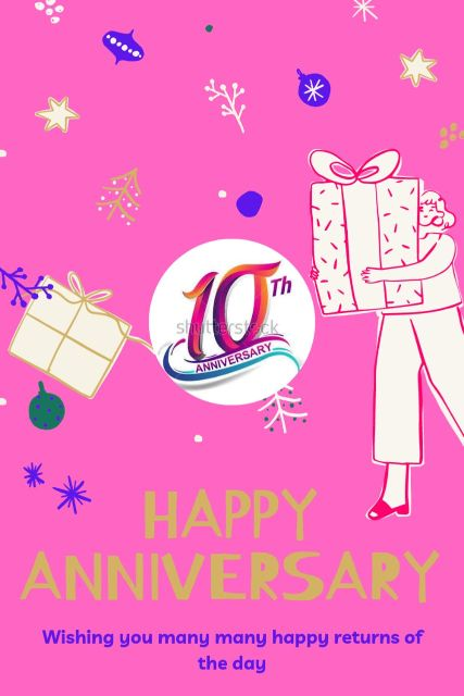 10th Wedding Anniversary Wishes Messages Quotes 5
