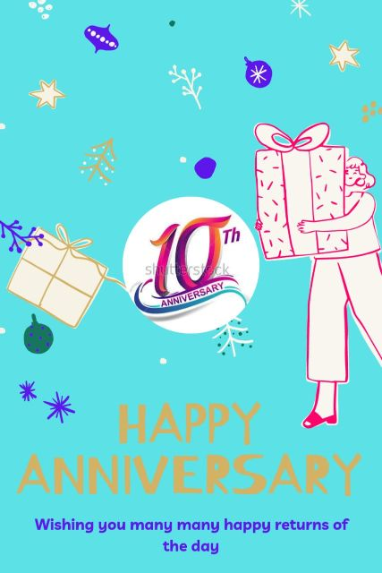 10th Wedding Anniversary Wishes Messages Quotes 6