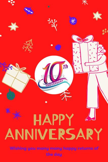 10th Wedding Anniversary Wishes Messages Quotes 9
