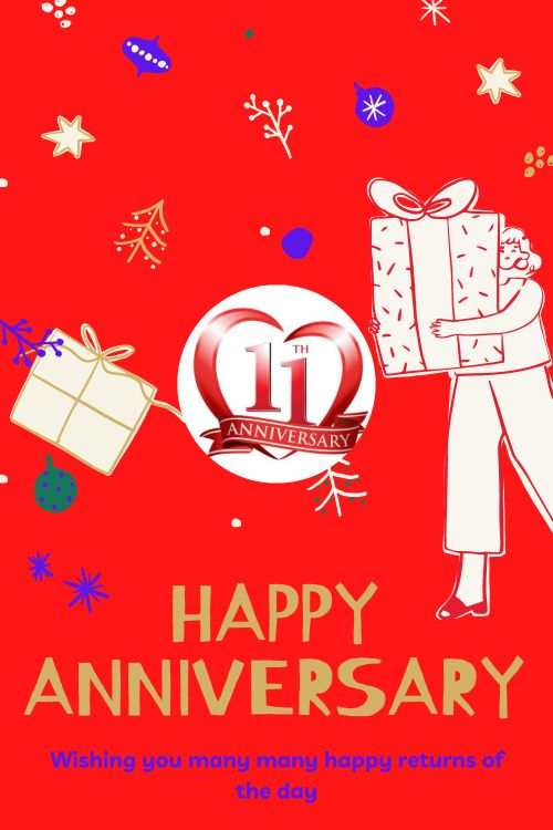 11th Wedding Anniversary Wishes Messages quotes 1