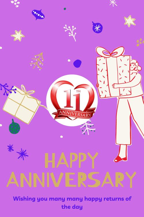 11th Wedding Anniversary Wishes Messages quotes 10