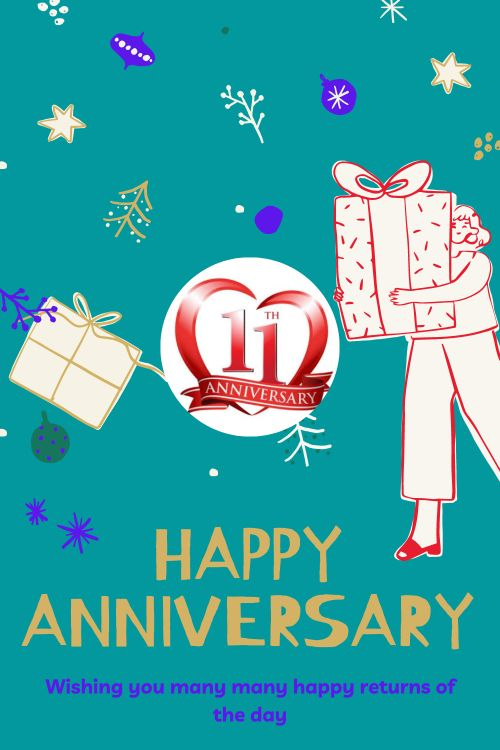 11th Wedding Anniversary Wishes Messages quotes 2