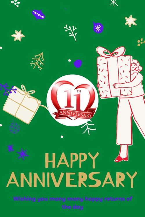 11th Wedding Anniversary Wishes Messages quotes 3