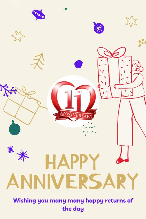 11th Wedding Anniversary Wishes Messages quotes 4