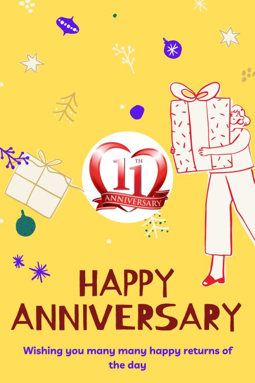 11th Wedding Anniversary Wishes Messages quotes 5