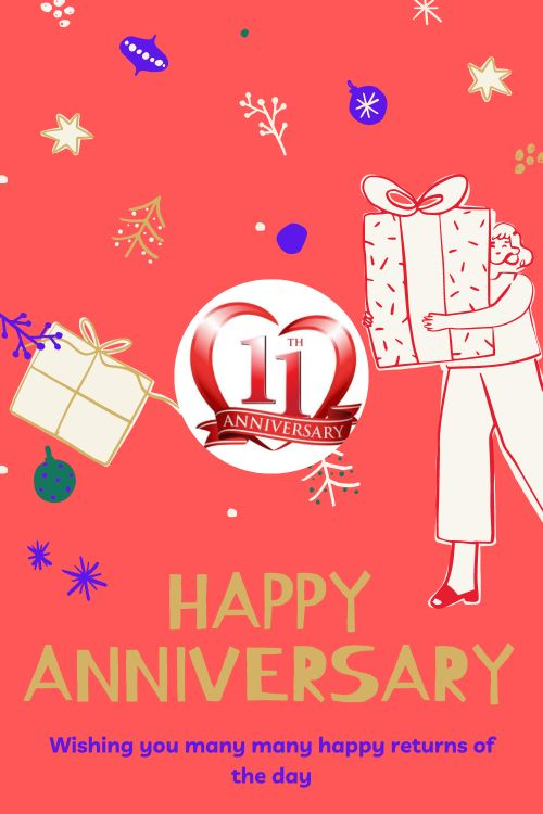 11th Wedding Anniversary Wishes Messages quotes 6