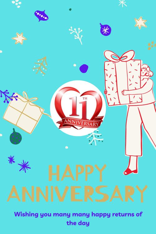 11th Wedding Anniversary Wishes Messages quotes 8