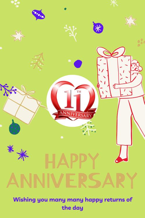 11th Wedding Anniversary Wishes Messages quotes 9