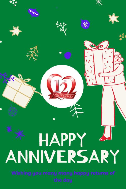 12th Wedding Anniversary Wishes Messages quotes 4