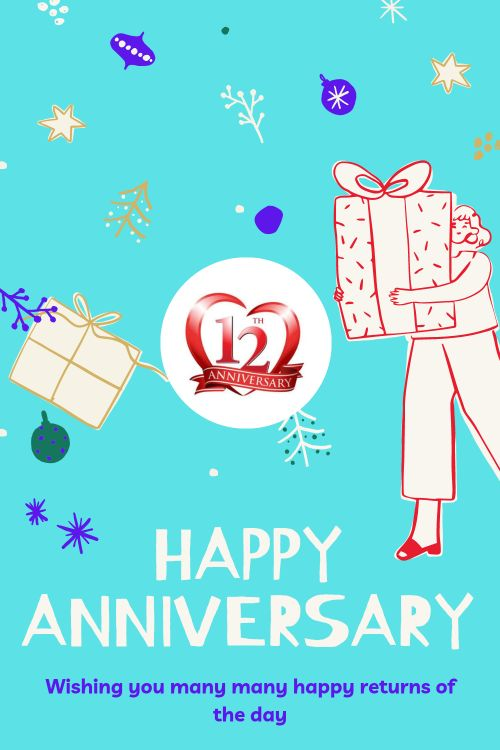 12th Wedding Anniversary Wishes Messages quotes 6