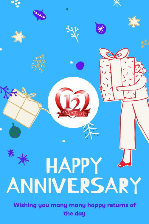 12th Wedding Anniversary Wishes Messages quotes 9