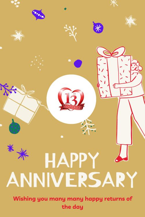 13th Wedding Anniversary Wishes Messages quotes 10
