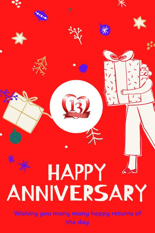 13th Wedding Anniversary Wishes Messages quotes 2