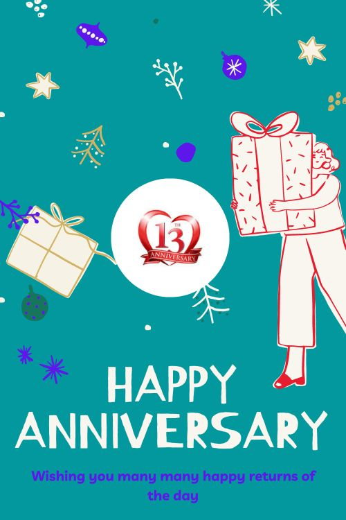 13th Wedding Anniversary Wishes Messages quotes 3