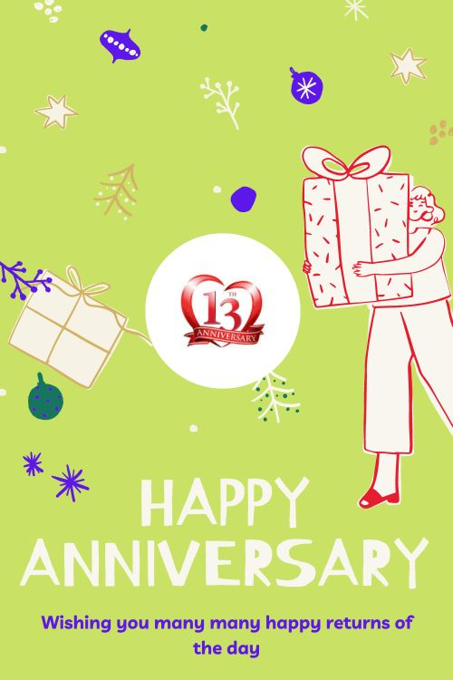 13th Wedding Anniversary Wishes Messages quotes 7