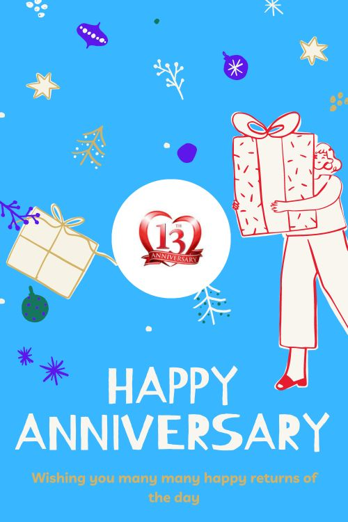 13th Wedding Anniversary Wishes Messages quotes 9