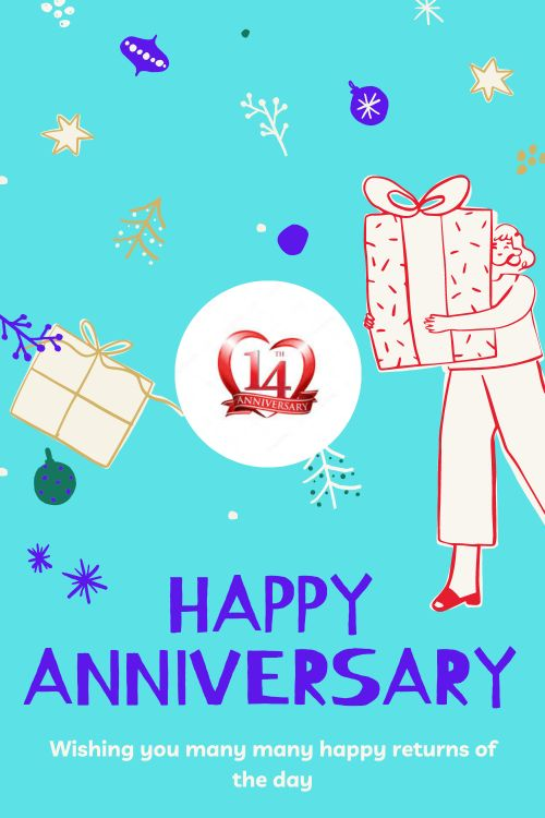 14th Wedding Anniversary Wishes Messages quotes 10