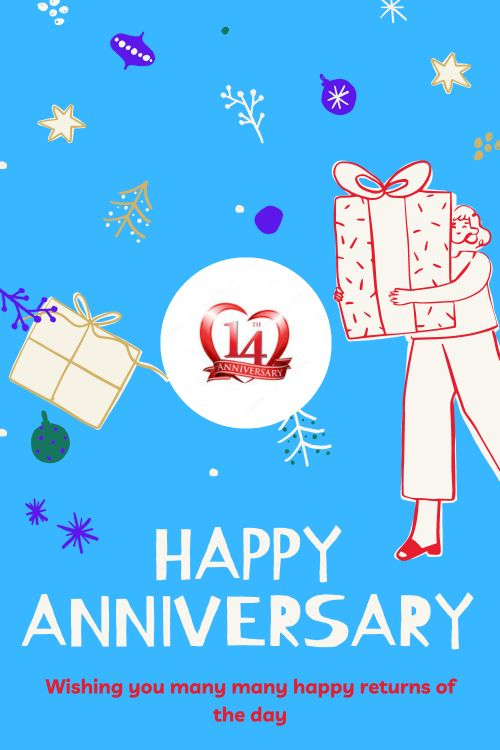 14th Wedding Anniversary Wishes Messages quotes 2