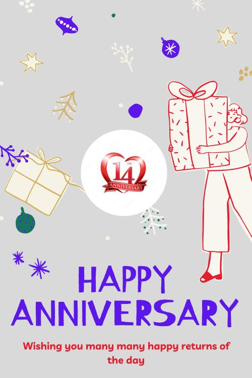 14th Wedding Anniversary Wishes Messages quotes 5