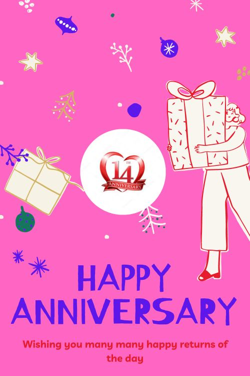 14th Wedding Anniversary Wishes Messages quotes 6