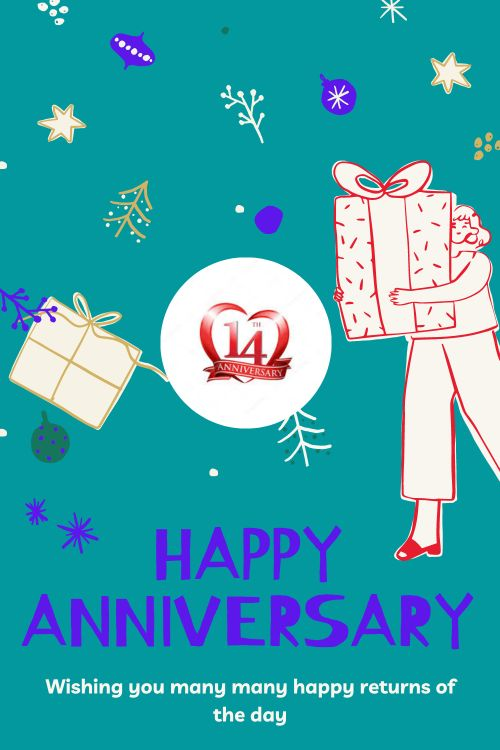 14th Wedding Anniversary Wishes Messages quotes 8