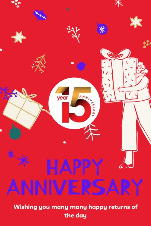 15th Wedding Anniversary Wishes Messages quotes 1