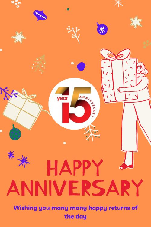 15th Wedding Anniversary Wishes Messages quotes 10