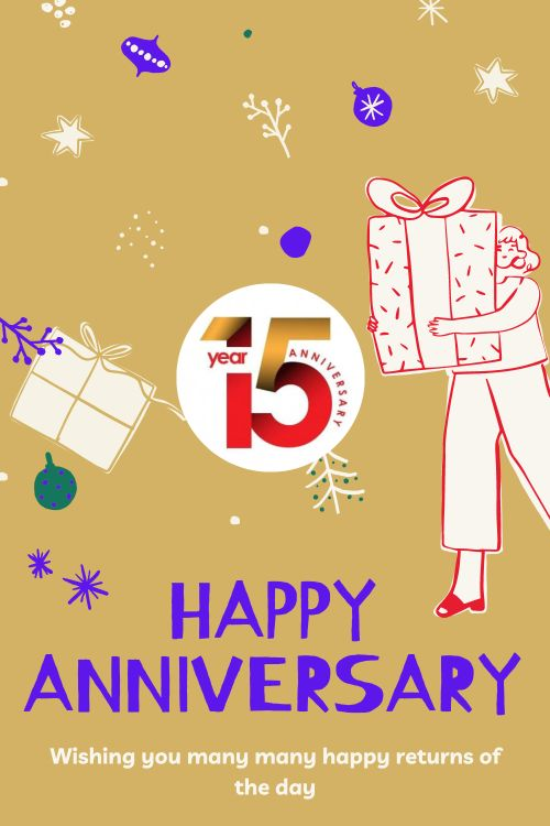 15th Wedding Anniversary Wishes Messages quotes 2