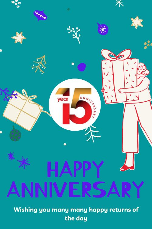 15th Wedding Anniversary Wishes Messages quotes 3
