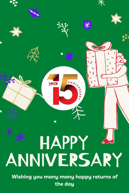 15th Wedding Anniversary Wishes Messages quotes 4