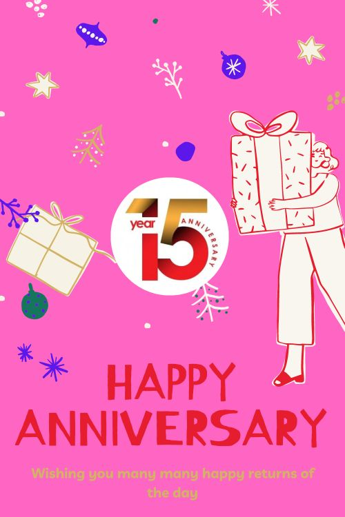 15th Wedding Anniversary Wishes Messages quotes 5