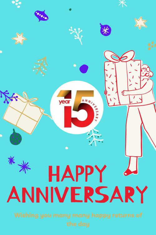 15th Wedding Anniversary Wishes Messages quotes 6