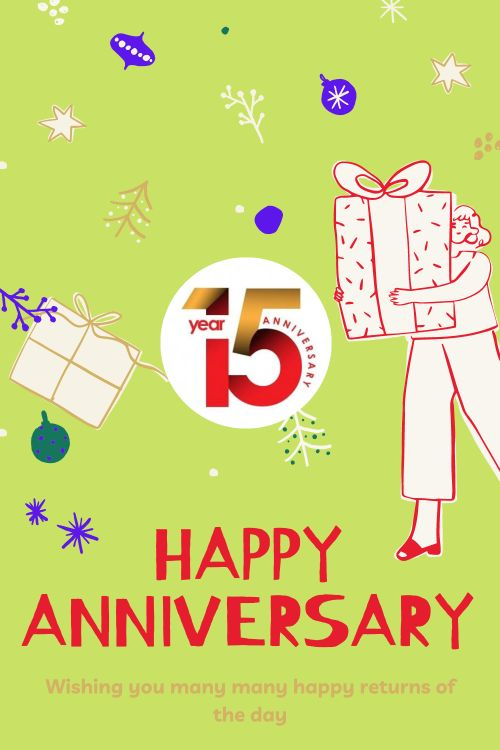 15th Wedding Anniversary Wishes Messages quotes 7