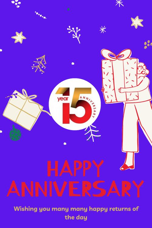 15th Wedding Anniversary Wishes Messages quotes 8