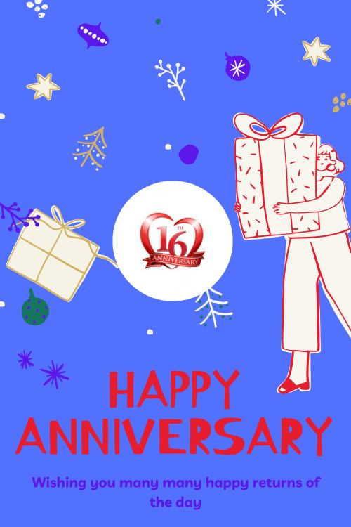16th Wedding Anniversary Wishes Messages quotes 3