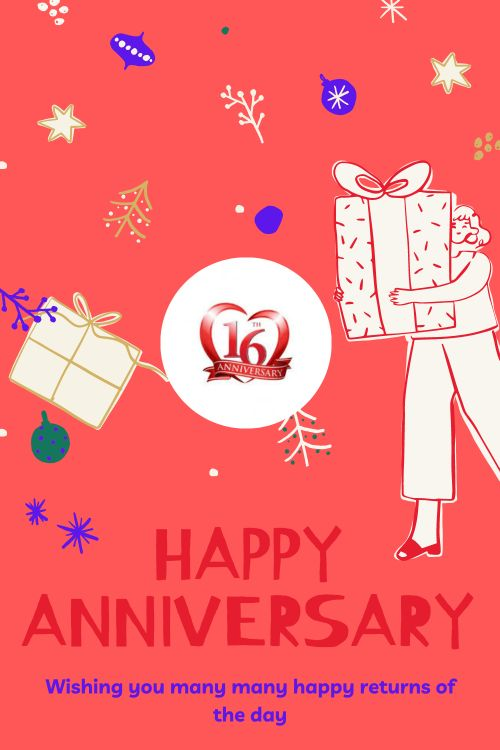 16th Wedding Anniversary Wishes Messages quotes 7