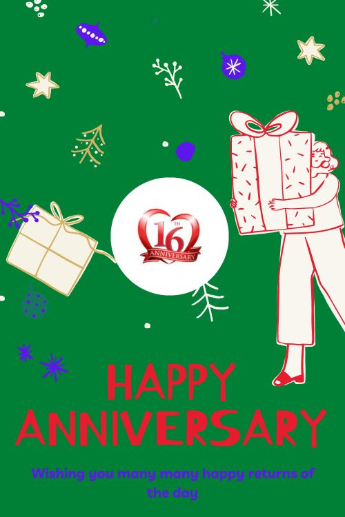 16th Wedding Anniversary Wishes Messages quotes 8