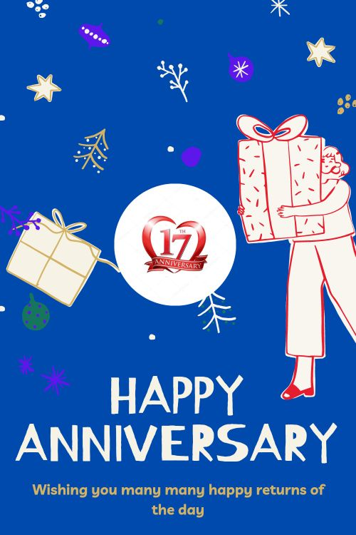 17th Wedding Anniversary Wishes Messages quotes 10