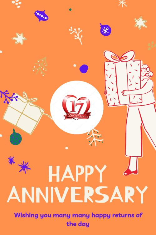 17th Wedding Anniversary Wishes Messages quotes 11