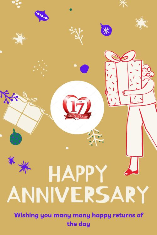 17th Wedding Anniversary Wishes Messages quotes 2
