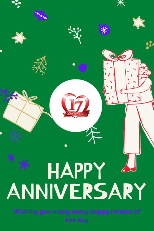 17th Wedding Anniversary Wishes Messages quotes 5