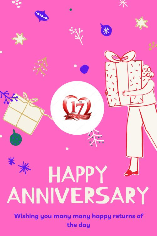 17th Wedding Anniversary Wishes Messages quotes 6