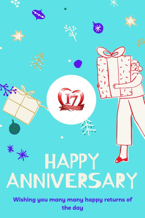 17th Wedding Anniversary Wishes Messages quotes 7