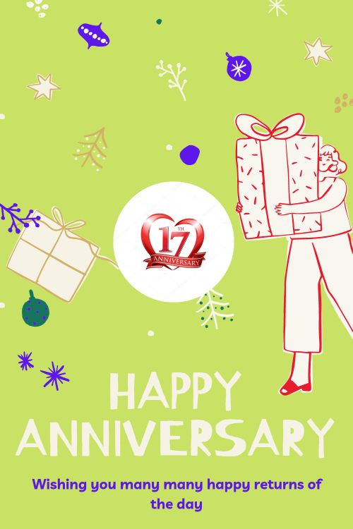 17th Wedding Anniversary Wishes Messages quotes 8
