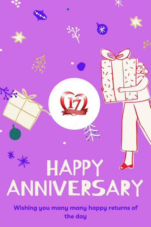 17th Wedding Anniversary Wishes Messages quotes 9