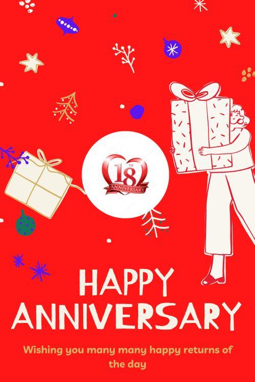 18th Wedding Anniversary Wishes Messages quotes 10